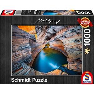 """Schmidt Spiele (59922) - Mark Gray: """"Indigo"""" - 1000 pièces"""