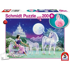 """Schmidt Spiele (56373) - """"Unicorn"""" - 200 pièces"""