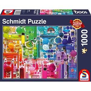 """Schmidt Spiele (58958) - """"Rainbow Colours"""" - 1000 pièces"""