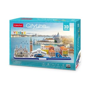"""Cubic Fun (mc269h) - """"Cityline Venice"""" - 126 pièces"""