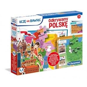 """Clementoni (50021) - """"Poland Map"""" - 104 pièces"""