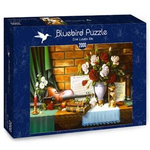 "Bluebird Puzzle (70078) - ""She Loves Me"" - 2000 pièces"
