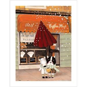 "Pintoo (h1708) - Nan Jun: ""Half, Coffee Shop"" - 300 pièces"