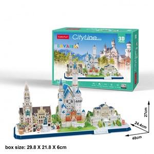 """Cubic Fun (mc267h) - """"Cityline, Bavaria"""" - 178 pièces"""