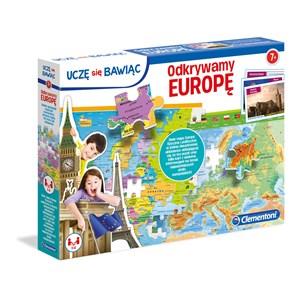 """Clementoni (50020) - """"Europe Map"""" - 104 pièces"""