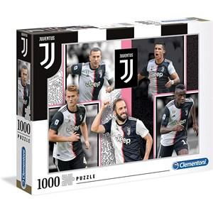 "Clementoni (39531) - ""Juventus"" - 1000 pièces"