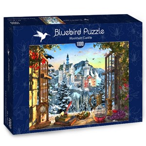 """Bluebird Puzzle (70122) - """"Mountain Castle"""" - 1000 pièces"""