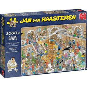 """Jumbo (20031) - Jan van Haasteren: """"Gallery of Curiosities"""" - 3000 pièces"""