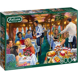 """Jumbo (11328) - Jim Mitchell: """"The Dining Carriage"""" - 500 pièces"""