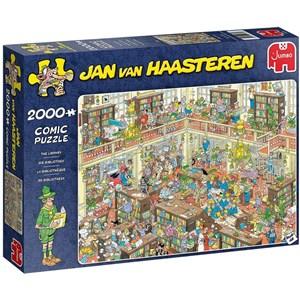 "Jumbo (20030) - Jan van Haasteren: ""The Library"" - 2000 pièces"