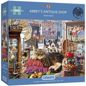 """Gibsons (G6303) - Steve Read: """"Abbey's Antique Shop"""" - 1000 pièces"""