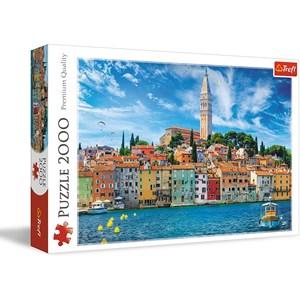 "Trefl (27114) - ""Rovinj, Croatia"" - 2000 pièces"
