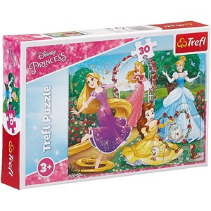 """Trefl (18267) - """"Disney Princess"""" - 30 pièces"""