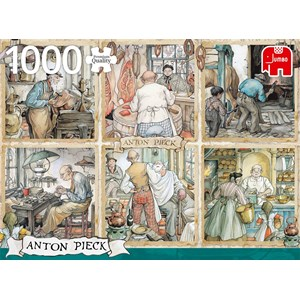 "Jumbo (18817) - Anton Pieck: ""Craftmanship"" - 1000 pièces"