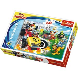 """Trefl (17322) - """"Disney, Mickey and the Roadster Racers"""" - 60 pièces"""