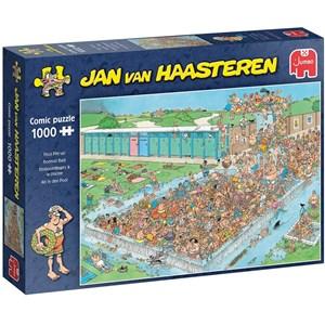 """Jumbo (20039) - Jan van Haasteren: """"Pool Pile-Up"""" - 1000 pièces"""