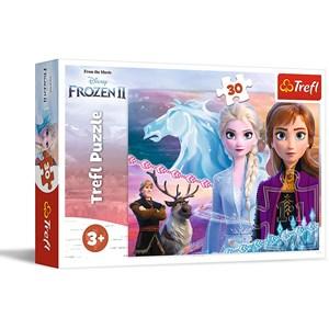 "Trefl (18253) - ""Frozen II"" - 30 pièces"