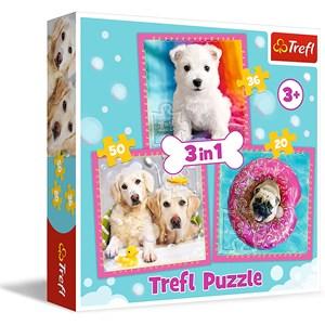 """Trefl (34845) - """"Dogs"""" - 20 36 50 pièces"""