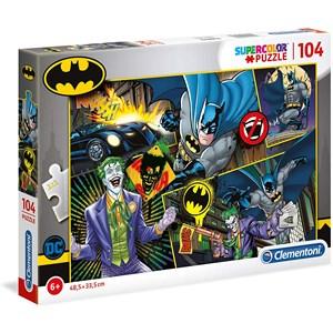 """Clementoni (25708) - """"Batman"""" - 104 pièces"""