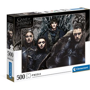 """Clementoni (35091) - """"Game of Thrones"""" - 500 pièces"""