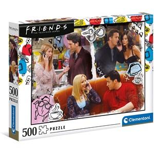 """Clementoni (35090) - """"Friends"""" - 500 pièces"""