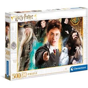 """Clementoni (35083) - """"Harry Potter"""" - 500 pièces"""