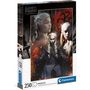 """Clementoni (29057) - """"Game of Thrones"""" - 250 pièces"""