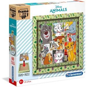 "Clementoni (38804) - ""Disney Animals"" - 60 pièces"