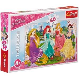 """Trefl (17347) - """"Disney Princess"""" - 60 pièces"""
