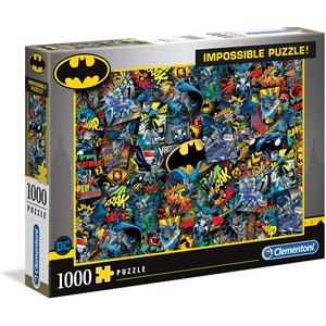 """Clementoni (39575) - """"Batman"""" - 1000 pièces"""
