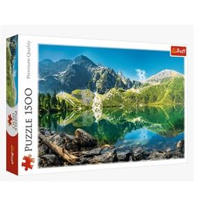 """Trefl (26167) - """"Morskie Oko Lake, Tatras, Poland"""" - 1500 pièces"""