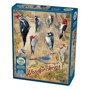 """Cobble Hill (85007) - Susan Bourdet: """"Notable Woodpeckers"""" - 500 pièces"""