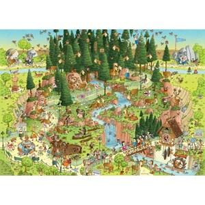 "Heye (29638) - Marino Degano: ""Habitat de la forêt noire"" - 1000 pièces"