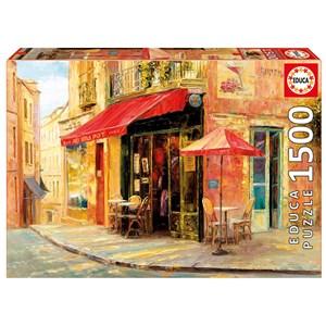 """Educa (17123) - Haixia Liu: """"Hillside Café"""" - 1500 pièces"""
