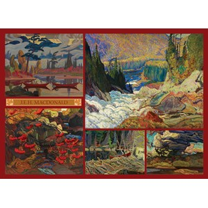 "Cobble Hill (51011) - J.E.H. Macdonald: ""MacDonald Collection"" - 1000 pièces"