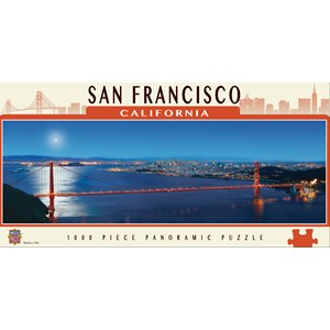 "MasterPieces (71595) - James Blakeway: ""San Francisco"" - 1000 pièces"