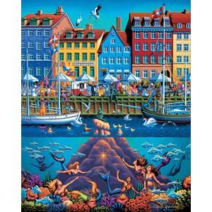 """Dowdle Folk Art (00366) - """"Copenhagen"""" - 500 pièces"""