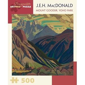 "Pomegranate (AA855) - J.E.H. Macdonald: ""Mount Goodsir, Yoho Park"" - 500 pièces"