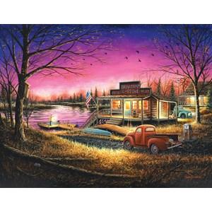 "SunsOut (55139) - Chuck Block: ""A Perfect Evening"" - 1000 pièces"