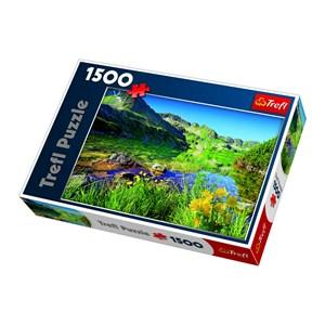 """Trefl (260892) - Jan Wlodarczyk: """"Wielki Staw Lake, the Tatras"""" - 1500 pièces"""