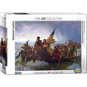 "Eurographics (6000-0829) - Emanuel Leutze: ""Washington Crossing the Delaware"" - 1000 pièces"