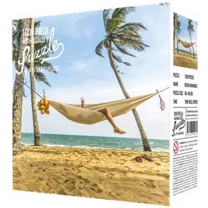 """Kylskåpspoesi (00464) - """"Beach with a Hammock"""" - 1000 pièces"""
