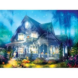 "SunsOut (52060) - Joel Christopher Payne: ""Halloween Lane House"" - 1000 pièces"