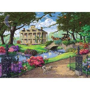 """Ravensburger (14690) - Tom Antonishak: """"Visiting the Mansion"""" - 500 pièces"""