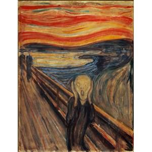 """Clementoni (39377) - Edvard Munch: """"Le Cri"""" - 1000 pièces"""