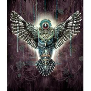 "Schmidt Spiele (59324) - Chris Saunders: ""Wise Owl"" - 1000 pièces"