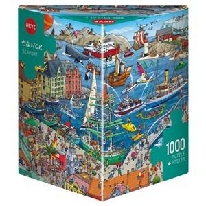 "Heye (29729) - Birgit Tanck: ""Seaport"" - 1000 pièces"