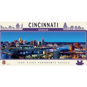 "MasterPieces (71587) - James Blakeway: ""Cincinnati"" - 1000 pièces"