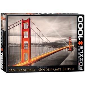 "Eurographics (6000-0663) - ""San Francisco Golden Gate Bridge"" - 1000 pièces"