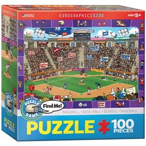 "Eurographics (6100-0473) - ""Baseball"" - 100 pièces"